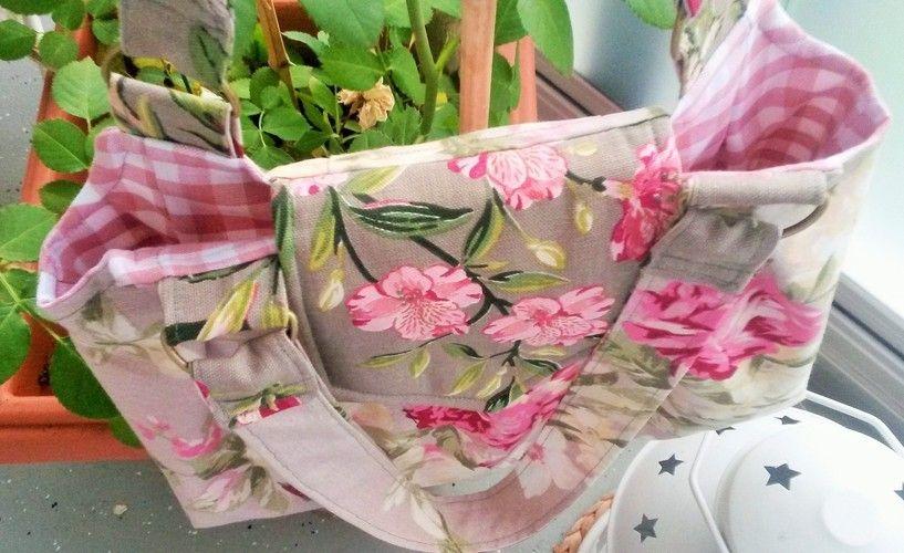 """Makerist - Handtasche """"Romantische Rosen"""" - Nähprojekte - 2"""