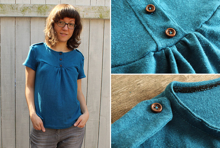 """Makerist - Mein Shirt """"Marla"""" - Nähprojekte - 1"""