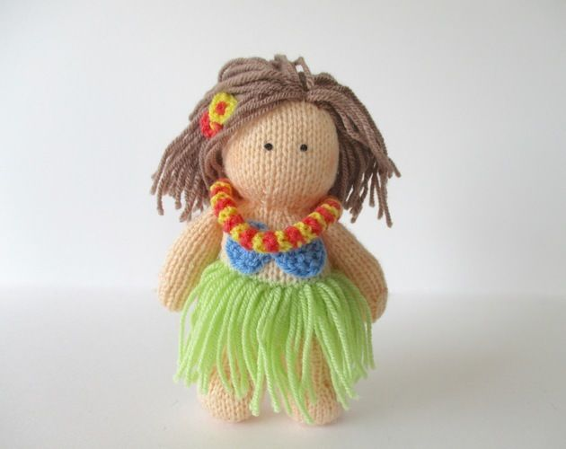 Makerist - Hula Girl - Knitting Showcase - 1