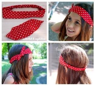 Rockabilly Haarband