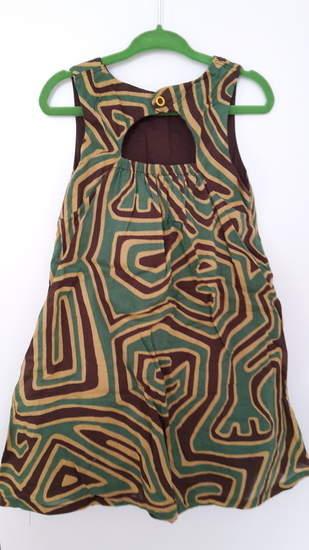 Upcycling aus altem Kleid von mir
