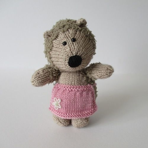 Makerist - Gloria Hedgehog - Knitting Showcase - 1
