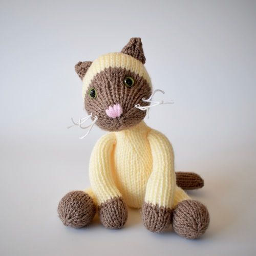 Makerist - Siamese Cat - Knitting Showcase - 1