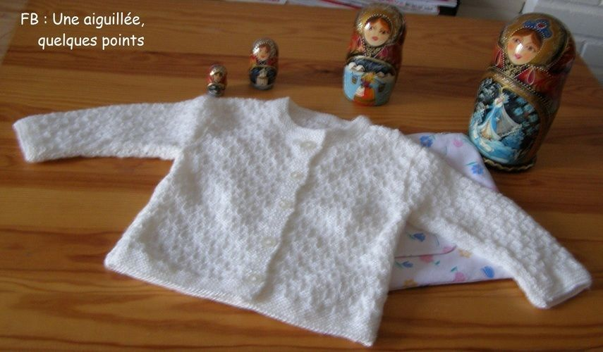 Makerist - Surprise pour une prochaine naissance - Créations de tricot - 3