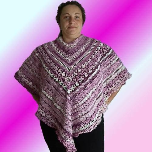 Makerist - Poncho Lily - Häkelprojekte - 1