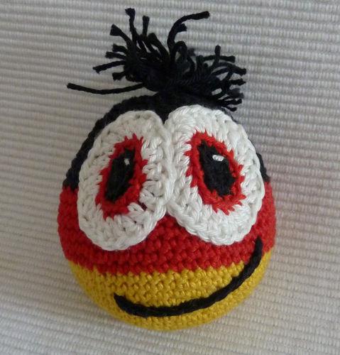Makerist - Deutschland-WM-Ball - Häkelprojekte - 1