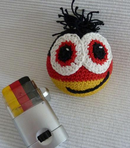 Makerist - Deutschland-WM-Ball - Häkelprojekte - 2
