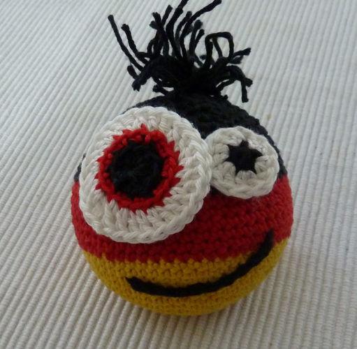 Makerist - Deutschland-WM-Ball - Häkelprojekte - 3