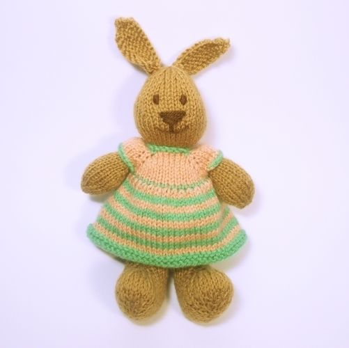 Makerist - Bitsy Bunny - Knitting Showcase - 2