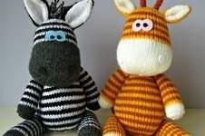 Makerist - Gerry Giraffe and Ziggy Zebra - 1