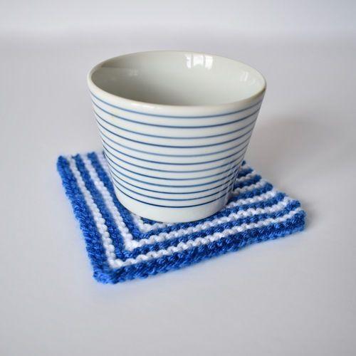 Makerist - Square Coaster - Knitting Showcase - 2