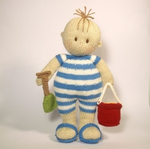 Makerist - Seaside Jo-Jo doll - Knitting Showcase - 1
