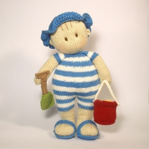 Makerist - Seaside Jo-Jo doll - Knitting Showcase - 2