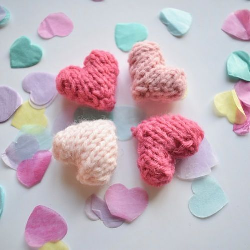 Makerist - Love Hearts - Knitting Showcase - 1