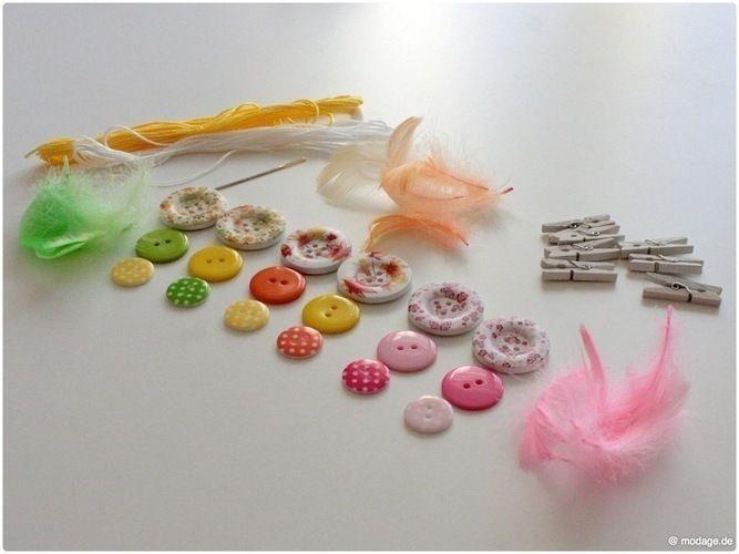 Makerist - Knopfblumen DIY: Kreatives Blumenspiel - DIY-Projekte - 2