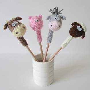 Makerist - Farmyard Pencil Toppers - 1
