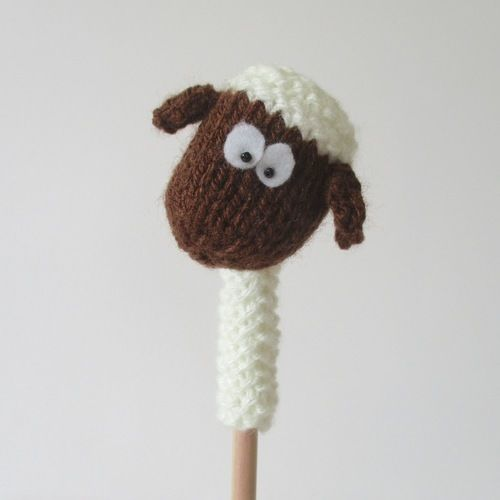 Makerist - Farmyard Pencil Toppers - Knitting Showcase - 3