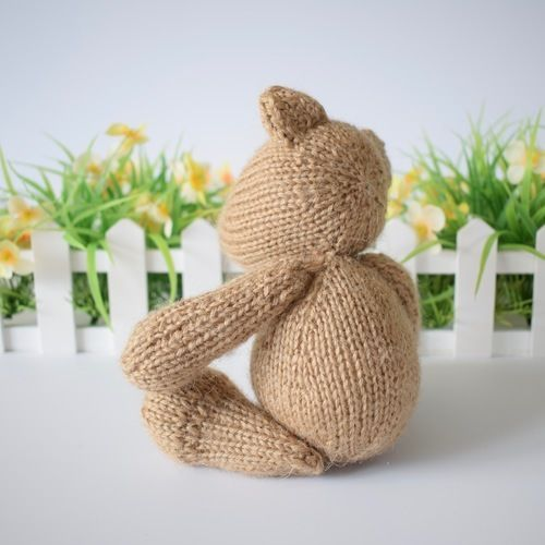 Makerist - Nutmeg Bear - Knitting Showcase - 2