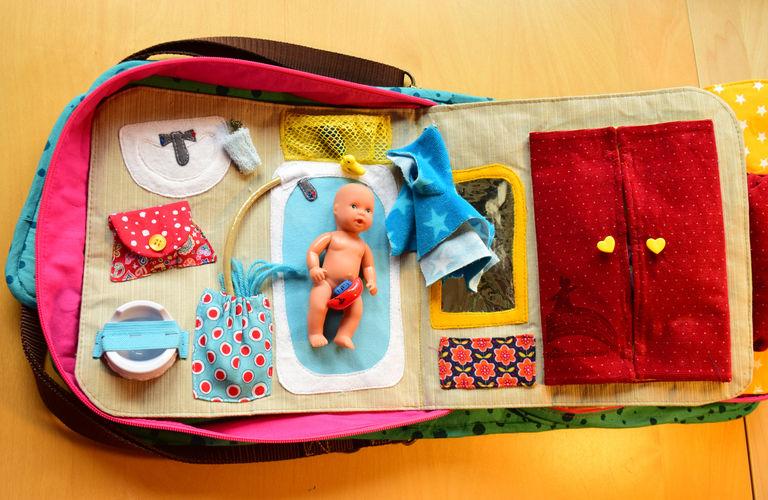 Makerist - Olly als Puppenstube - Nähprojekte - 2