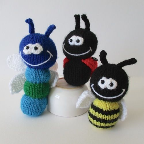 Makerist - Dinky Bugs - Knitting Showcase - 2