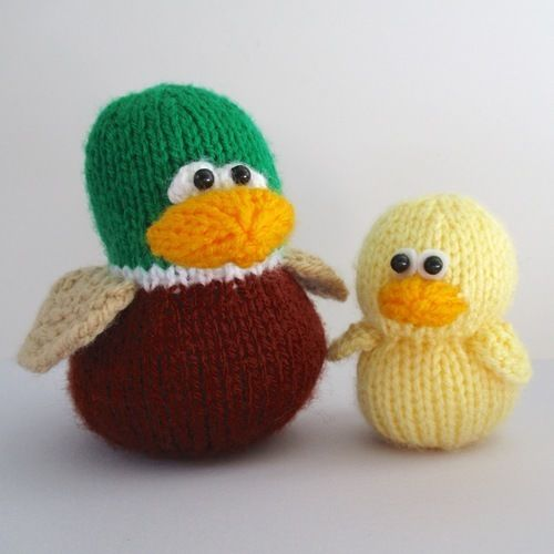Makerist - Duckies - Knitting Showcase - 2