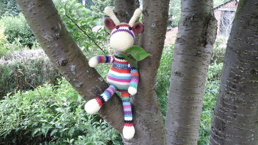 Makerist - Gigi la girafe en cotton fun pour Aymeric mon petit fils  - Créations de crochet - 1