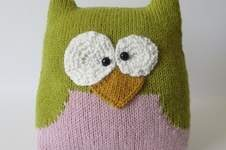 Makerist - Owl Cushion - 1