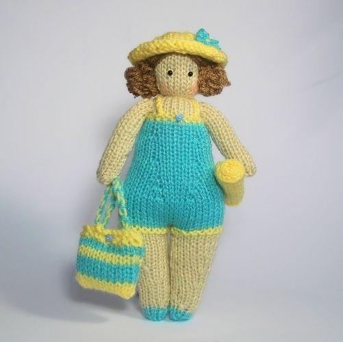 Makerist - Tilda Doll Sarah - Knitting Showcase - 1