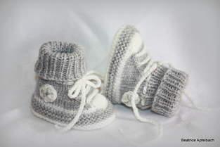 Makerist - Turnschuhe fürs Baby mit dezentem Glitzer - 1