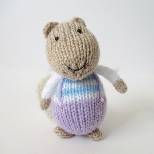 Makerist - Fluffy, Sniffles and Squeaker - Knitting Showcase - 2