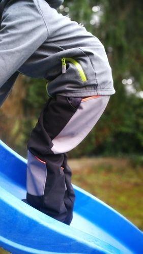 Makerist - Titus kids aus Softshell mit Verstärkung an Knien /Po - Nähprojekte - 1
