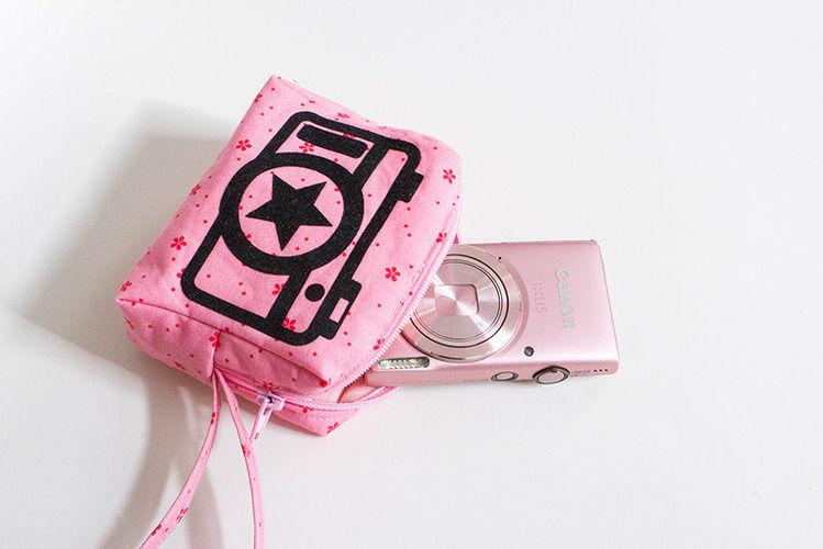 """Makerist - Kameratasche """"Amelie"""" mit Bügelbild - Nähprojekte - 1"""