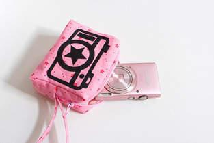"""Makerist - Kameratasche """"Amelie"""" mit Bügelbild - 1"""