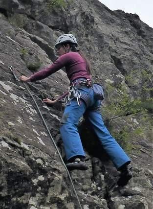 SoLong Mama im Einsatz als Kletterhose