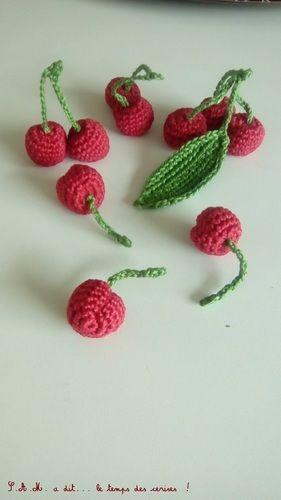 Makerist - S.A.M. a dit... le temps des cerises ! - Créations de crochet - 1