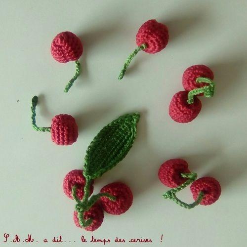 Makerist - S.A.M. a dit... le temps des cerises ! - Créations de crochet - 3