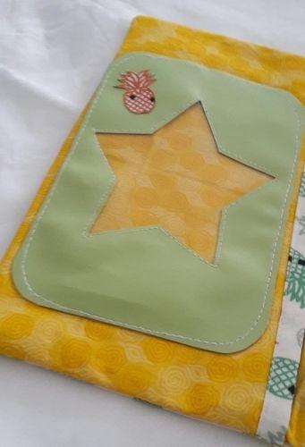 Makerist - Concours mai_protège carnet de santé ananas - Créations de couture - 3