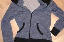 Makerist - Sweatshirtjacke mit selbstgeklöppelter Spitze - 1