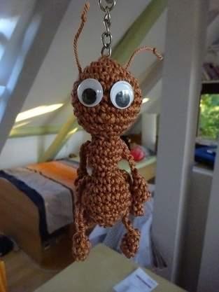 Taschenbaumler Ameise