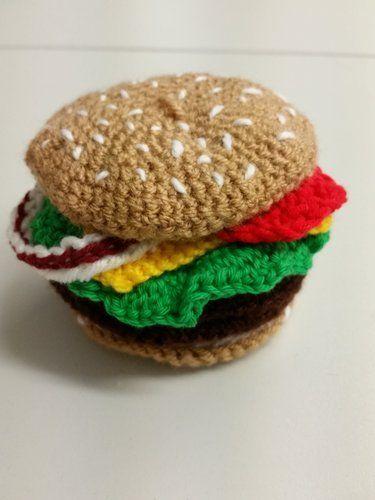"""Makerist - Hamburger zum """"reinbeißen""""  - Häkelprojekte - 1"""