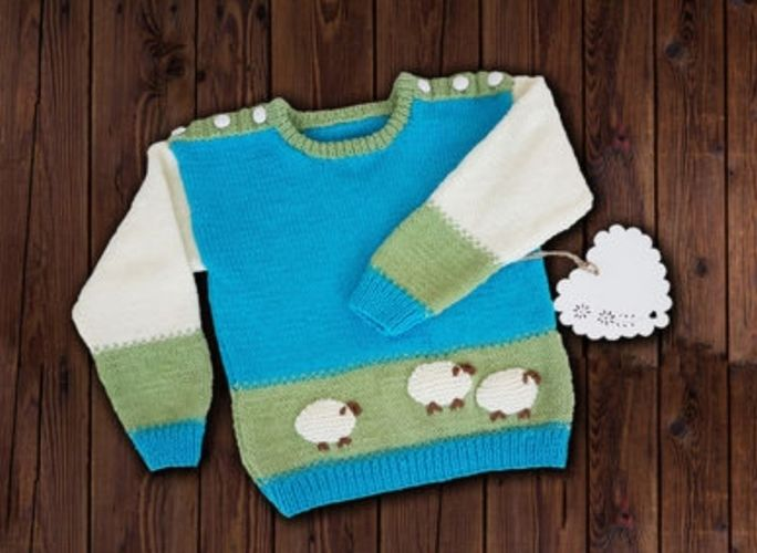 Makerist - Baa Baa Sweater Jumper 0 - 6 years - Knitting Showcase - 1