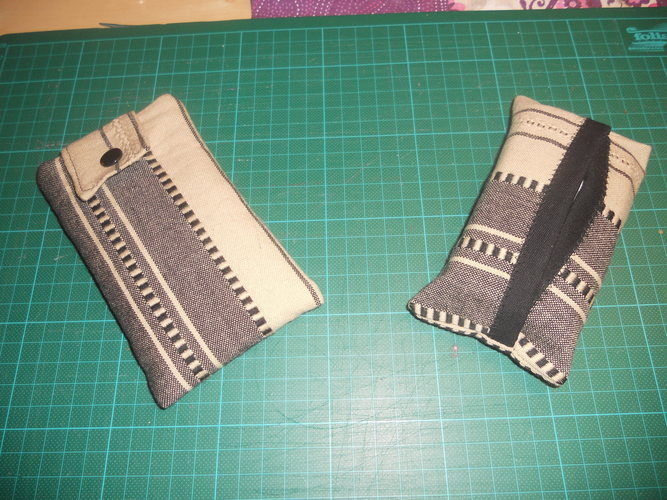 """Makerist - Tasche für meine Tochter """"Faltenliebe""""  und eine für mich + Handytasche und Tatü-Tasche - Nähprojekte - 3"""