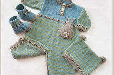 Makerist - DK - Bunnykids Playsuit Booties and Beanie Set - 3 to 36 months - 1