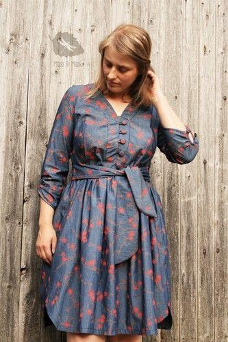 Makerist - Irenes Kleid aus Chambray - Nähprojekte - 1