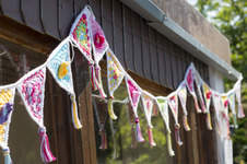 Makerist - Girlande für die Gartenlaube - 1