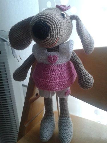 Makerist - Hunde Mädchen Emely - Häkelprojekte - 1