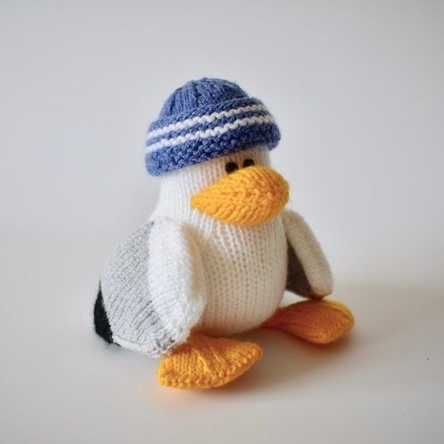 Makerist - Sid the Seagull - Knitting Showcase - 2