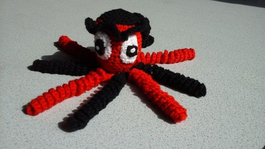 Makerist - Pieuvre au crochet ,un essai pour les prématurés des CHu - Créations de crochet - 1