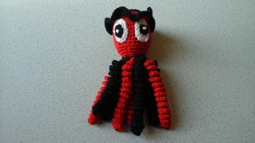 Makerist - Pieuvre au crochet ,un essai pour les prématurés des CHu - Créations de crochet - 2