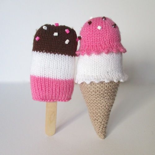 Makerist - Ice Cream Treats - Knitting Showcase - 1